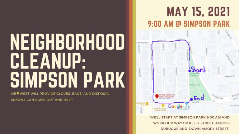 Neighborhood Cleanup: Simpson Park