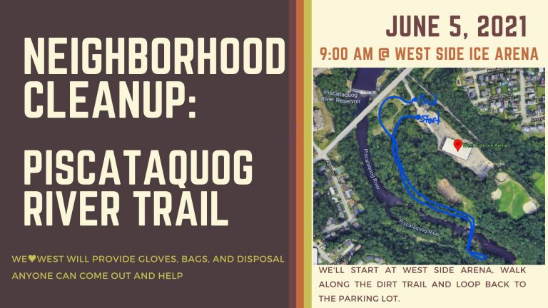 Neighborhood Cleanup: River Trail – West Side Ice Arena