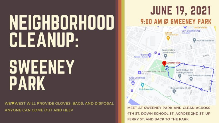 Neighborhood Cleanup: Sweeney Park