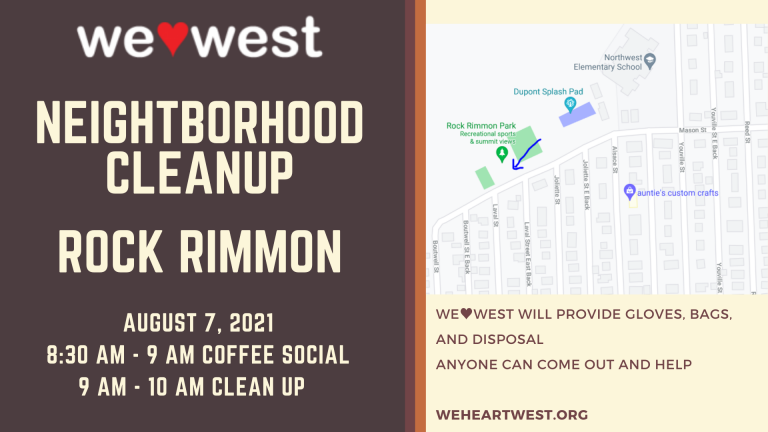 Neighborhood Cleanup: Rock Rimmon