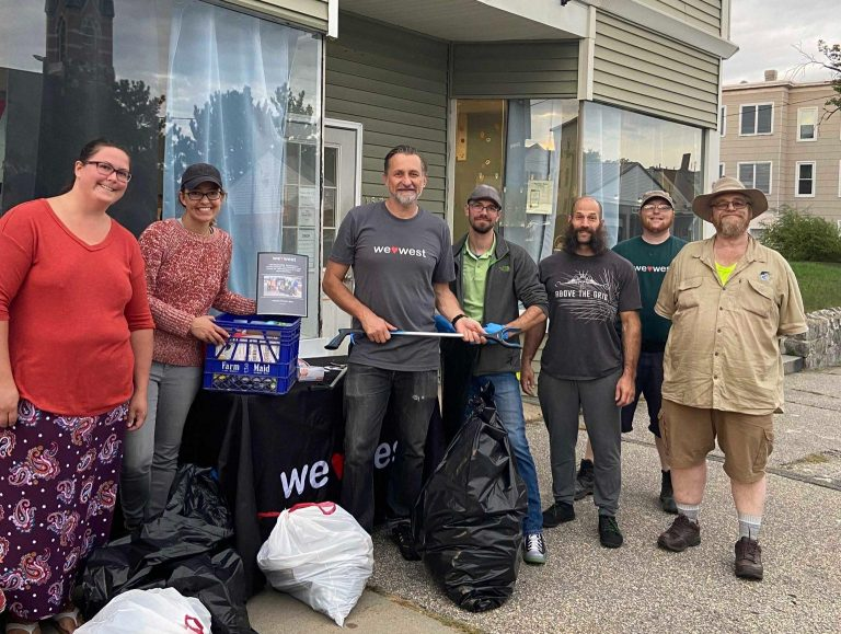 Litter Pickup in the Alleys around Amory and Dubuque